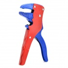 JiaHui B019 Multifunctional Duckbill Style Wire Stripping Plier - Red + Blue