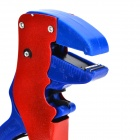 B019 Multifunctional Duckbill Style Wire Stripping Plier - Red + Blue