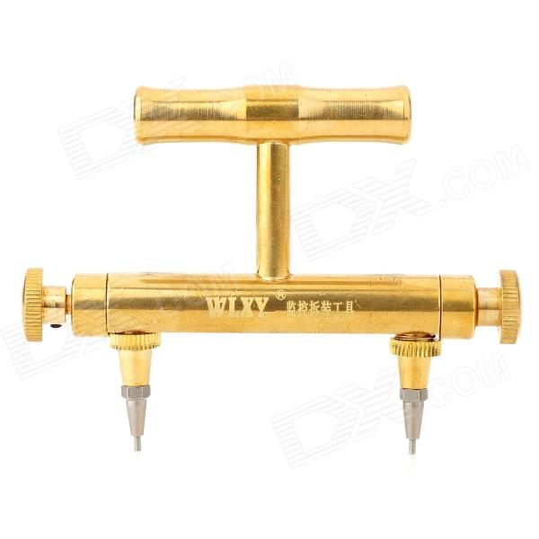 WLXY WL-60 Professional Adjustable Brass Dismantle Tool for Surveillance Camera - Golden