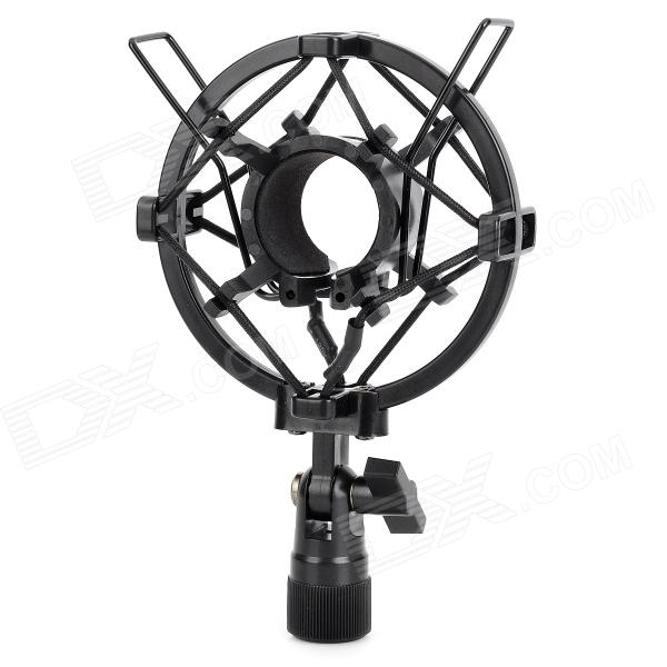 K1 Shockproof Rubber + ABS Holder for Large Diaphragm Condenser Microphone - Black