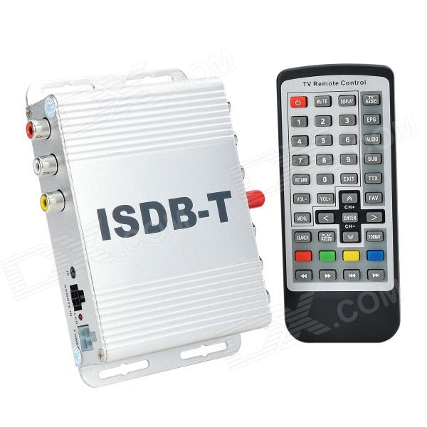 TV031 Brazil Standard HD ISDB-T Car Digital Receiver - Silver tv031 brazil standard hd isdb t car digital receiver silver
