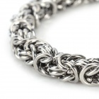 SHIYING SL0149 Stylish Stainless Steel Bracelet for Men - Silver