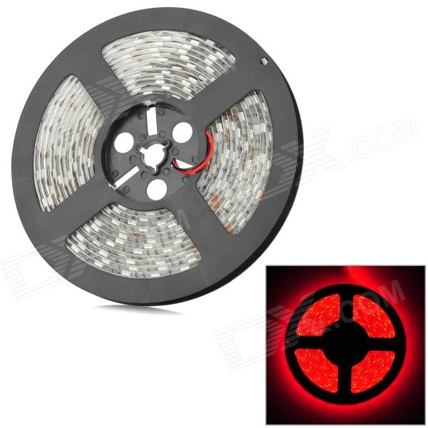 IP65 48W 300-5050 SMD LED Red Light Car Decoration LED Strip - White (12V / 5M) - DX5050 SMD Strips<br>Color BIN Red Brand N/A Model N/A Quantity 1 Piece Material Copper + chip Color White Emitter Type 5050 SMD LED Chip Brand OSRAM Total Emitters Others300 Wavelength 620 ~ 625 nm Rate Voltage 12V Power 48W Theoretical Lumens N/A lumens Actual Lumens N/A lumens Water-proof IP65 Application Decoration light Packing List 1 x LED strip 1 x DC adapter (10cm)<br>