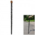 EDCGEAR PP Climbing Trekking Pole - Black + Dark Brown + Multi-Colored
