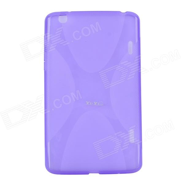 YI-YI Protective TPU Back Case Cover w/ Screen Protector for LG G Pad V500 - Purple 10pcs high quality t10 canbus 5smd 5050 194 w5w 501 5050 5smd led white car side tail light bulb t10 led canbus w5w led canbus