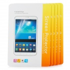 Protective Clear PET Screen Protectors for Samsung Galaxy Tab Pro 8.4 T320 - Transparent (5 PCS)