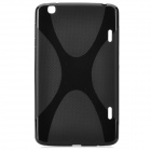 "YI-YI Protective TPU Back Case w/ Screen Protector for 8.3"" LG G Pad / V500 - Black"