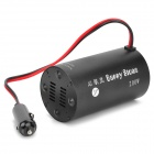 200W DC 12V to AC 220V Car Power Inverter w/ 5V 0.5A Output - Black (27cm)