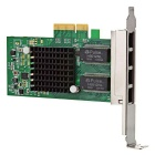 DIEWU PCI-E Intel i350T4 4-Port Gigabit LAN Network Card