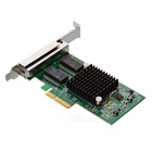 DIEWU PCI-E Intel i350T4 4-Port Gigabit LAN Placa de Rede