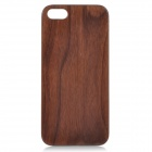 Goodlen Retro Protective Walnut Wood Wooden Back Case for IPHONE 5 / 5S - Brown + White