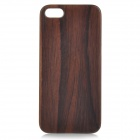 Goodlen Retro Protective Red Sandalwood Wooden Back Case for IPHONE 5 / 5S - Brown + White