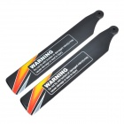 WLtoys V966 Replacement Main Blade for V966 R/C Helicopter - Orange + Black