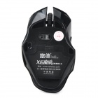 Forter X6 2.4GHz Wireless USB 2.0 4-Mode Optical LED Gaming Mouse - Black (2 x AA)