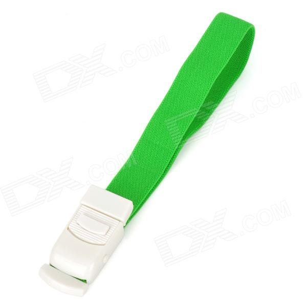 Convenient Nylon Compression Cord Tourniquet w/ Buckle - Green