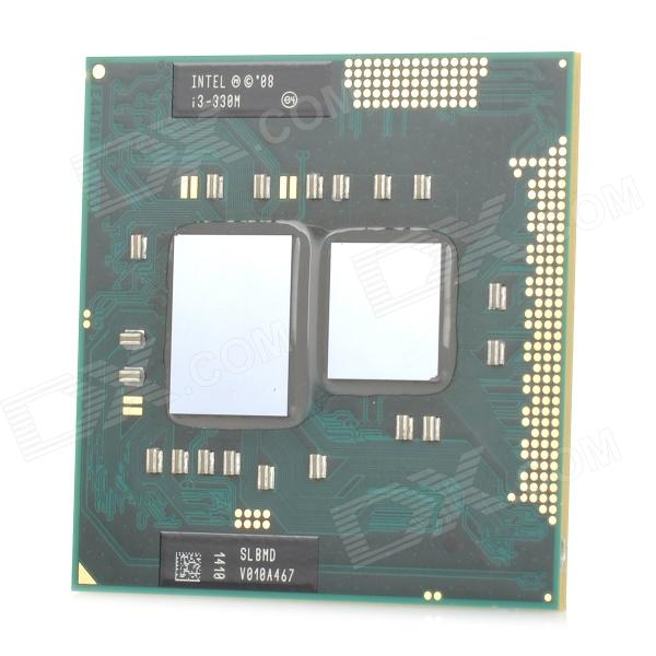 Intel Core i3-330M PGA Dual Core 2.1GHz LGA 1155 35W Processor CPU - Green + Silver (Second Hand) msi zh77a g43 original desktop motherboard ddr3 lga 1155 for i3 i5 i7 cpu 32gb usb3 0 sata3 h77 motherboard