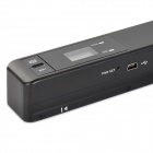 LZ-518 Portable Portable 900dpi USB 2.0 Wired Scanner-Noir