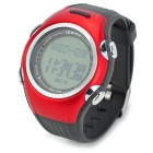 Spovan SPV901 Multifunctional Outdoor Sports Digital Quartz PU Band Electronic Wrist Watch - Red
