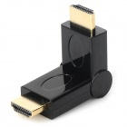 YaoSheng 180° Rotary HDMI Male to HDMI Male Adapter - Black