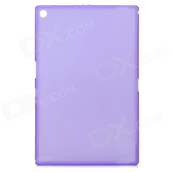 IKKI  Protective TPU Back Case for Sony Xperia Z2 Tablet / P511 / P512 - Translucent Purple sony xperia p в алматы