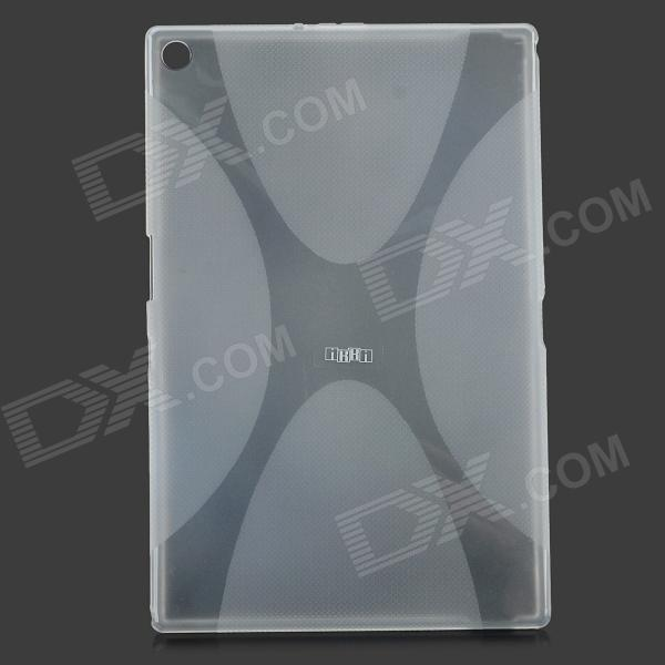 IKKI X Pattern Protective TPU Case for Sony Xperia Z2 Tablet P511 / P512 - Translucent White sony xperia p в алматы