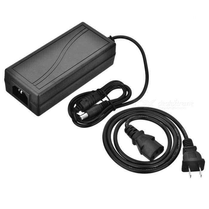JRLED 60W 12V 5A US Plug AC / DC Power Adapter for LED Light Stripe - Black (100~240V) 2016 year very hot sale new small apple design high quality battery operated min usb powered table fan cooling fan