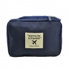 LBN-BA1008 Multifunctional Nylon Travel Wash Storage Bag - Black