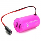 200W DC 12V a 220V AC Car Power Inverter w / 5V 0.5A - Deep Pink ( 27 centímetros )