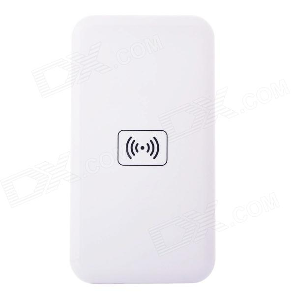 T35 QI Wireless Charging Charger Pad for LG E960 / Google Nexus 4 2G / Nokia Lumia 920 - White t2 mini qi wireless charger pad for lg e960 google nexus 4 2g nokia lumia 920 white black