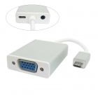CY MH-070 Micro USB MHL to VGA Video Audio Cable Adapter for S2 i9100 i9220 i9250 Projector Monitor
