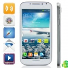 "KVD DG300 MTK6572 Dual-Core Android 4.2.2 WCDMA Bar Phone w/ 4.5"" IPS, FM, 4GB ROM, GPS - White"