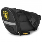 INBIKE B576 PU Bike Cycling Tail Bag - Black