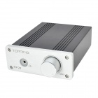 TOPPING TP21 2 x 25W Class-T Digital High Power Output Amp Amplifier - Black + Silver White
