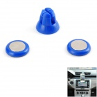 Udilis U1 Universal Magnetic Car Outlet Holder Stand + Sticker Set - Blue
