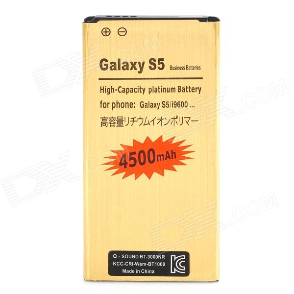 Replacement 1700mAh Li-ion Battery for Samsung Galaxy S5 - Golden аккумулятор samsung eb bg900bbegru для samsung galaxy s5 li ion 2800 mah оригинальный