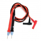 Banana Bar Head Standard Instrument Multimeter Test Pen - Black + Red (2 PCS)