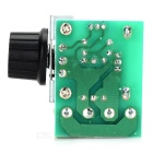 FR-4 A 2000W Electronic Voltage Regulator w/ Dimmer/Speed/Temperature Adjustment - Green