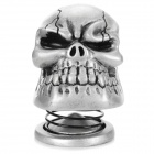 Cool Skull Style 3W 3.5mm Jack Multimedia Speaker - Silvery Grey