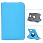 Protective PU Leather Case w/ Card Slot / Stylus Pen for Samsung GALAXY Tab 3 Lite T110 - Blue