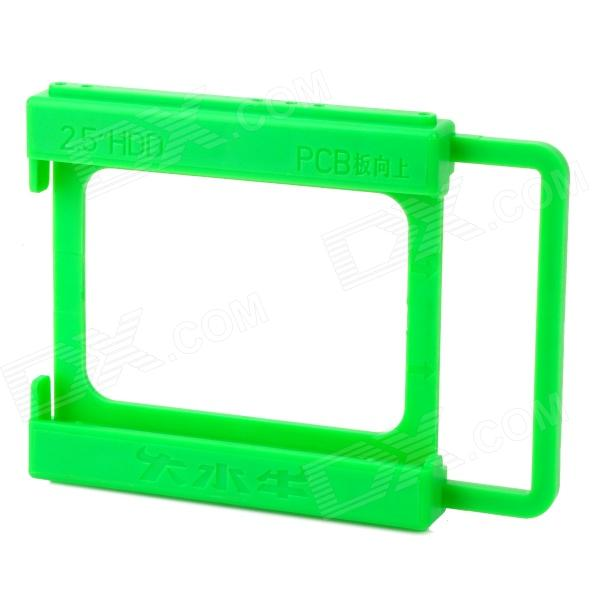 "Resin Desktop Computer 2.5"" to 3.5"" SSD / HDD Mounting Adapter Holder - Green"