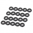 Main Board Installation Rubber Insulating Spacer - Black (20 PCS)
