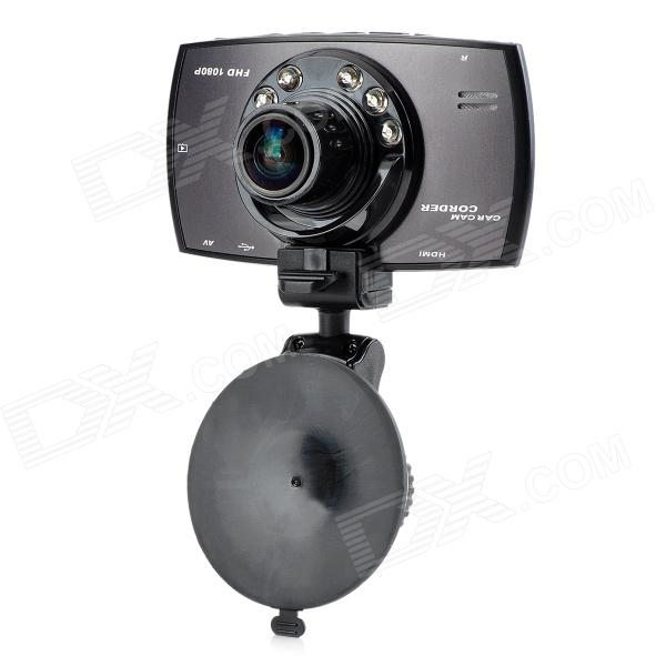S550A Novatek NT96650 1080P HD 5.0MP CMOS IR Night Vision Wide Angle Car Camcorder - Black