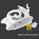 Dragon Shaped Mini USB 3-Blade Fan (3 x AAA)