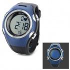 Spovan SPV906 Sports Quartz Digital Wrist Watch / Heart Rate Monitor + Chest Belt - Blue + Black