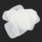 Outdoor Travel Dissolving Paper Soaps - White (20 PCS)