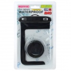 WP-i10 Universal Waterproof PVC + TPU + ABS Case w/ UV Cap for Canon / Nikon / Sony + More - Black