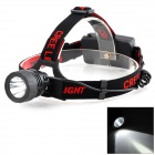RADAR TD-118 3.7V 130lm Cree XR-E Q5 3-Mode 1-LED Cool White Headlamp - Black (3 x AAA / 1 x 18650)