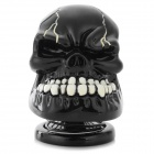 Cool Skull Style 3W 3.5mm Jack Multimedia Speaker - Black + White