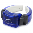 PL 718B Portable Neck Therapy Massager Instrument - Blue + Black (2 x AAA)