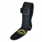 Thicken Cotton Leather Strap for Guitar - Black